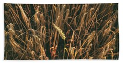 Alone In The Crowd Beach Towel