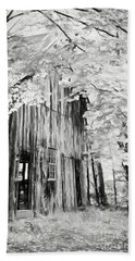 Alone In The Woods Beach Towel by Nicki McManus