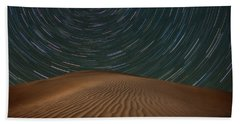 Beach Towel featuring the photograph Alone On The Dunes by Darren White