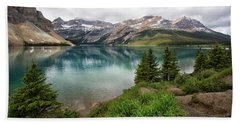 Along Icefields Parkway Beach Towel