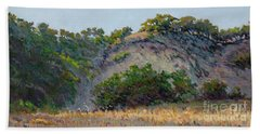 Along Jalama Creek Beach Towel