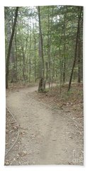 Along Our Winding Paths Beach Towel