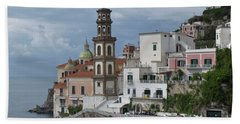 Along The Amalfi Coast Beach Towel