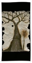 Along The Crumbling Fork In The Road Of The Tree Of Life Acfrtl Beach Towel by Talisa Hartley