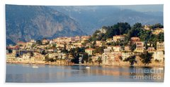 Along Villefranche Coast Beach Towel