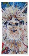 Alpaca Crazed Beach Towel