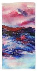Alpenglow Beach Towel