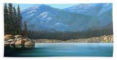Alpine Lake Beach Towel