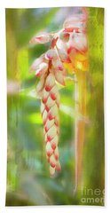 Beach Sheet featuring the photograph Alpinial Galangal by MaryJane Armstrong
