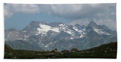 Alps Magenificence Beach Towel