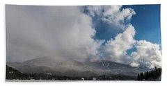 Alta Lake And Whistler Mountain Beach Towel