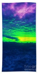 Alternate Sunset Beach Towel