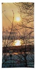 Altonaer Balkon Sunset Beach Sheet