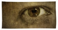 Always Watching Beach Towel by Scott Norris