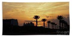 Alys At Sunset Beach Towel
