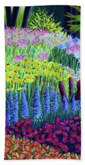 Amaranth In The Gardens At Hollandia Beach Towel