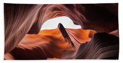 Amazing Antelope Canyon Beach Towel by JR Photography