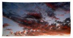 Spectacular Clouds  Beach Sheet