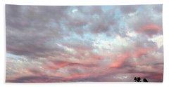 Soft Clouds Beach Sheet