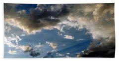 Amazing Sky Photo Beach Towel