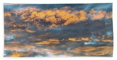 Clouds Of A Different Color Beach Towel