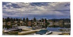 Devils Lake Oregon Beach Sheet