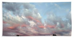 Amazing Clouds At Dusk Beach Towel