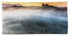 Amazing Landscape Of Tuscany Beach Towel