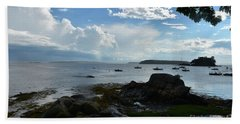 Amazing Views Of The Sky And Ocean From Bustin's Beach Towel