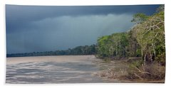 Amazonian Storm Study Number One Beach Towel