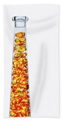 Amber #8429 Beach Towel