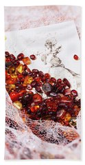 Beach Towel featuring the photograph Amber #8925 by Andrey  Godyaykin