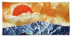 Amber Dusk Beach Towel