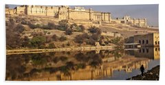 Amber Fort Beach Towel