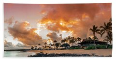 Amber Palms Beach Towel