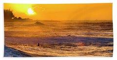 Amber Pastels Beach Towel