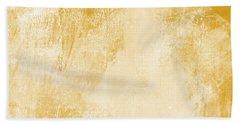 Amber Waves Beach Towel by Linda Woods