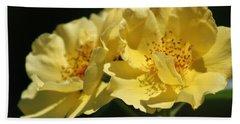 Amber Yellow Country Rose Beach Sheet