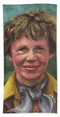 Amelia Earhart Beach Sheet