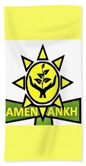 Amen Ankh Beach Towel
