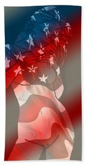 America Beach Towel