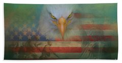 America The Great Beach Towel