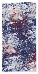 America Watercolor Beach Towel