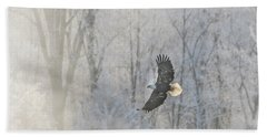 American Bald Eagle 2017-2 Beach Towel