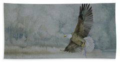 American Bald Eagle Beach Towel