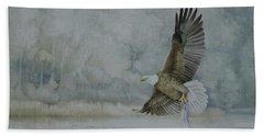 American Bald Eagle Beach Sheet