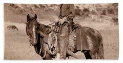 American Cowboy Classic C. 1888 Beach Sheet