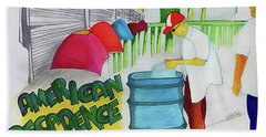 American Decadence Beach Towel