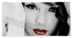 American Girl Taylor Swift Beach Towel by Brian Reaves