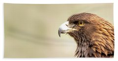 American Golden Eagle Beach Towel